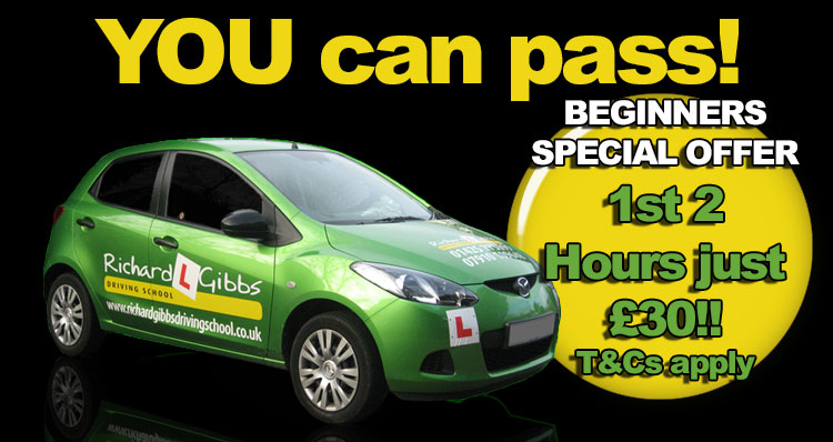 get driving lessons Christchurch with Richard Gibbs Driving School